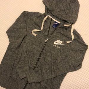 Nike Tops - Lightweight Nike grey hoodie